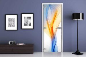 дизайн итерьера фотопечать на двери