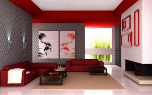 интерьер зала +в квартире