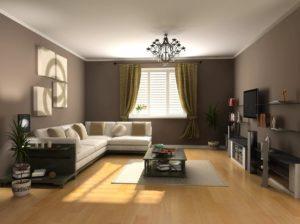 интерьер залы квартире