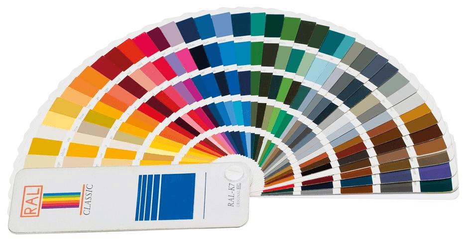 цвет по ралу таблица цветов